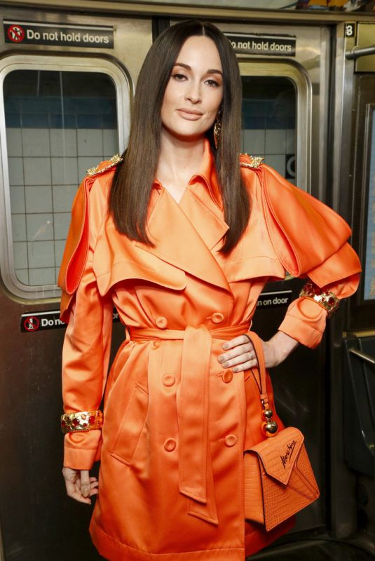 KACEY MUSGRAVES at Moschino Prefall 2020 Fashion Show in Brooklyn 12/09/2019