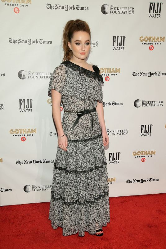 KAITLYN DEVER at 29th Annual Gotham Independent Film Awards in New York 12/02/2019