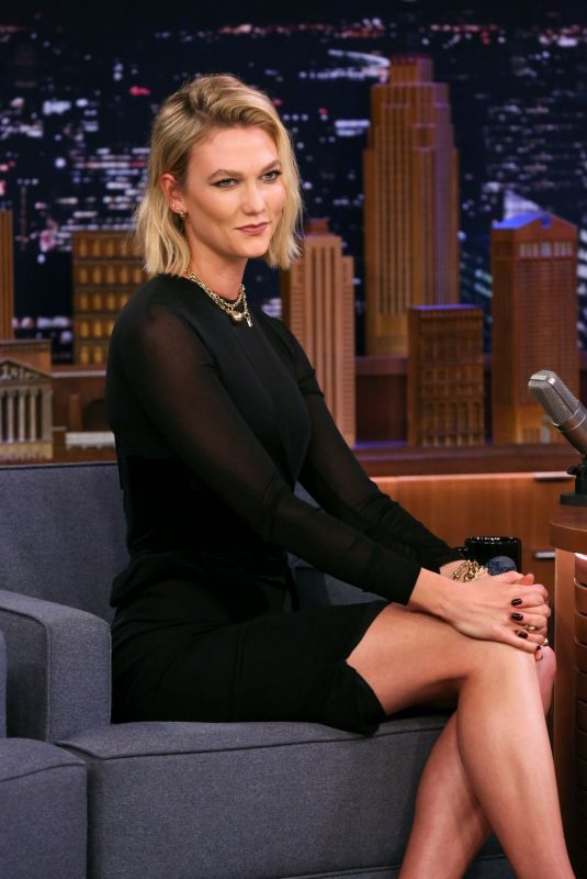 KARLIE KLOSS at Tonight Show Starring Jimmy Fallon in New York 12/02/2019