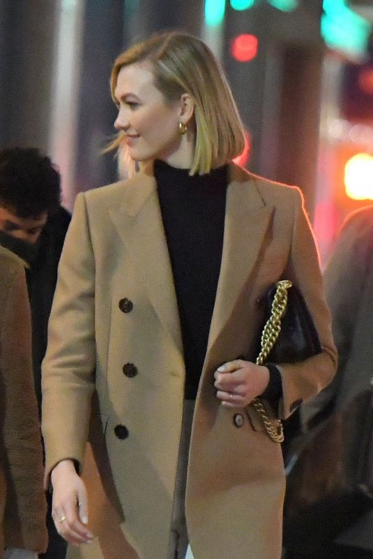 KARLIE KLOSS Night Out in New York 12/12/2019