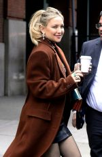 KATE HUDSON Leaves Greenwich Hotel in New York 12/05/2019