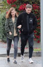 KATE MARA and Jamie Bell Out in Los Angeles 12/07/2019