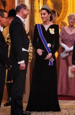 KATE MIDDLETON at Evening Reception for Members of Diplomatic Corps in London 12/11/2019