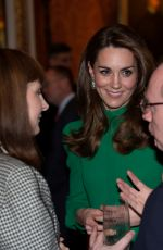 KATE MIDDLETON at Reception for Nato Leaders in London 12/03/2019