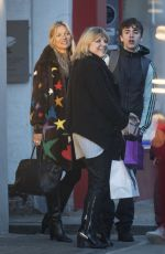 KATE MOSS Out and About in London 12/14/2019