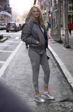 KATE UPTON Heading to a Gym in New York 12/18/2019