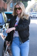 KATE UPTON Leaves a Hair Salon in Beverly Hills 12/13/2019