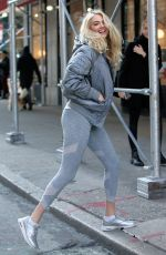 KATE UPTON Out in New York 12/18/2019