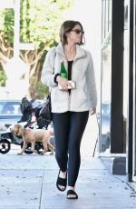KATHERINE SCHWARZENEGGER Heading to a Spa in Los Angeles 12/08/2019