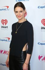 KATIE HOLMES at Z100