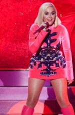 KATY PERRY Performs at Kiss FM Jingle Ball 2019 in Los Angeles 06/12/2019