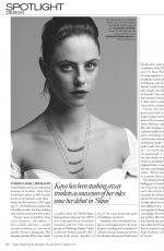 KAYA SCODELARIO for Tatler Magazine, UK December 2019