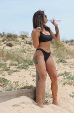 KAYLEIGH MORRIS in Bikini on the Beach in Tenerife 12/30/2019