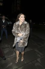 KELLY BROOK Arrives at Emma Bunton