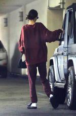 KENDALL JENNER Leaves Dermatologist Office in Beverly Hills 12/01/2019