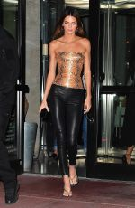 KENDALL JENNER Out for Dinner at Milos in Miami Beach 12/05/2019