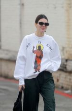 KENDALL JENNER Out in Los Angeles 12/29/2019