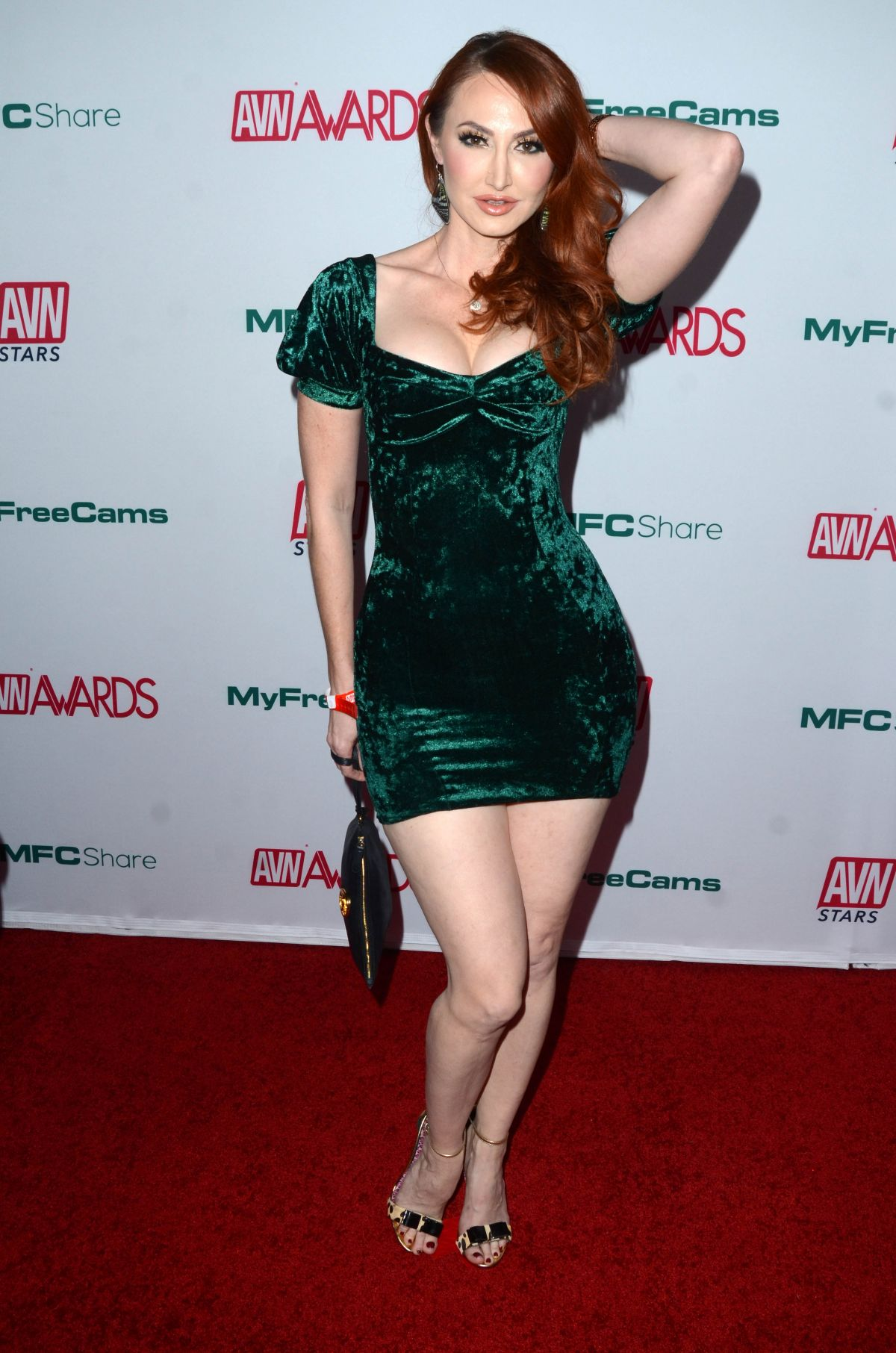 CHRISTY LOVE at AVN Awards Nominations Announcement in