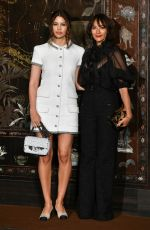 KENYA KINSKI-JONES and RASHIDA JONES at Chanel Metiers D