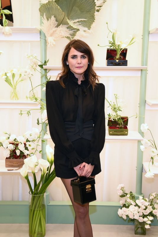 KERI RUSSELL at Mark Cross Flagship Grand Opening in New York 12/12/2019