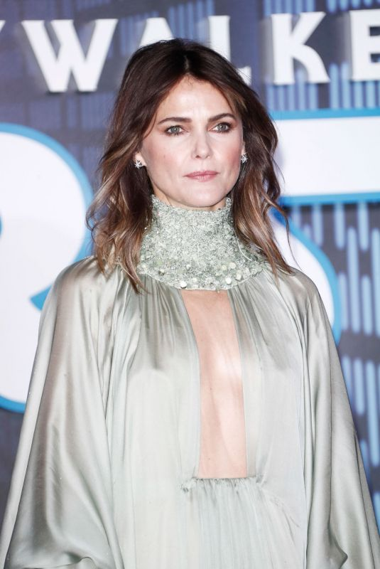 KERI RUSSELL at Star Wars: The Rise of Skywalker Premiere in London 12/18/2019