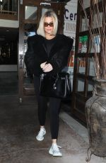 KHLOE KARDASHIAN Out for Lunch at La Plata in Agoura Hills 12/10/2019