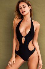 KIMBERLEY GARNER Models Her Latest Swimwear Collection, December 2019