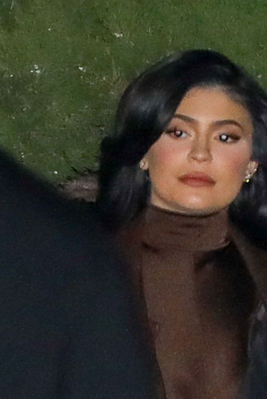 KYLIE JENNER Leaves a Holiday Dinner in Malibu 12/17/2019