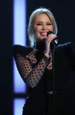 KYLIE MINOGUE Performs at Graham Norton Show in London 11/21/2019