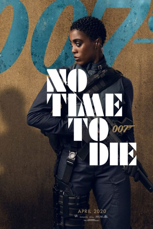 LASHANA LYNCH No Time To Die (2020) Poster