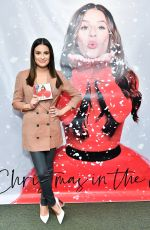 LEA MICHELE at Christmas in the City Album Launch at Barnes and Noble in New York 12/05/2019
