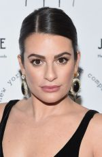 LEA MICHELE at New York Stage & Film 2019 Winter Gala at Zeigfeld Ballroom 12/08/2019