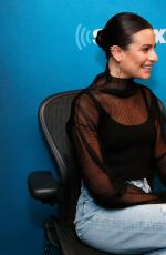 LEA MICHELE at SiriusXM Studios in New York 12/13/2019