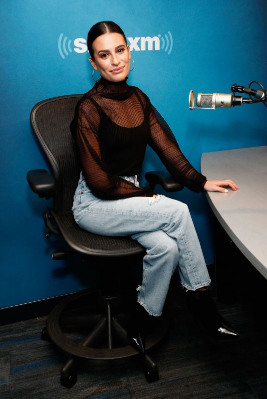 LEA MICHELE at SiriusXM Studios in New York 12/13/2019