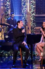 LEA MICHELE at Tonight Show with Jimmy Fallon 12/16/2019