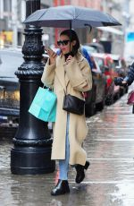 LEA MICHELE Out and About in New York 09/12/2019