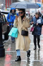 LEA MICHELE Out and About in New York 12/09/2019