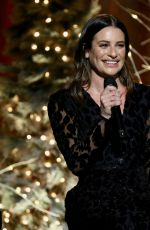 LEA MICHELE Performs at Concert Hall at NY Society for Ethical Culture 12/19/2019