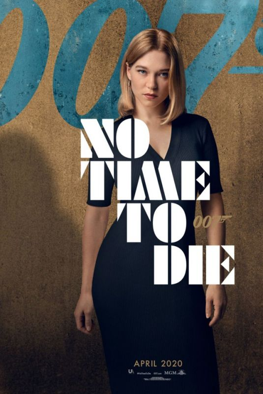 LEA SEYDOUX - No Time To Die (2020) Poster