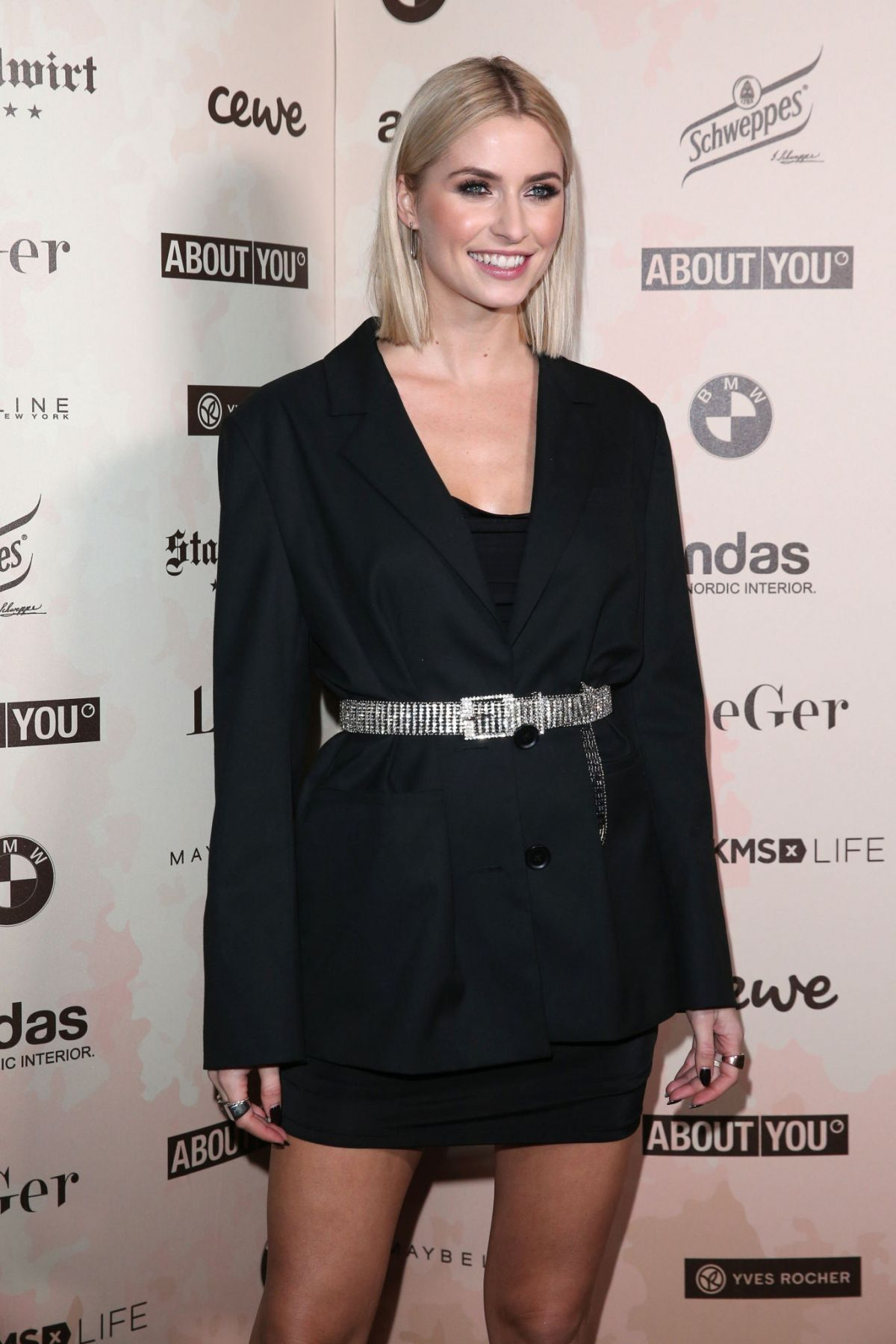 Lena Gercke At Lena Gercke X About You Christmas Dinner
