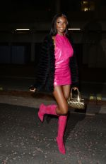 LEOMIE ANDERSON Arrives at Bankside Hotel in London 12/09/2019