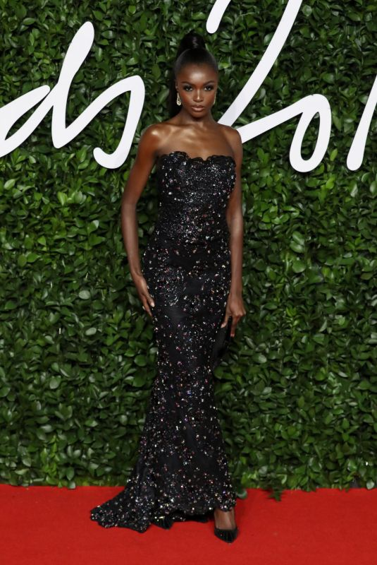 LEOMIE ANDERSON at Fashion Awards 2019 in London 12/02/2019