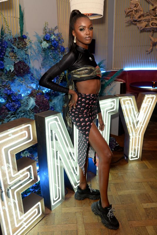 LEOMIE ANDERSON at Fenty Party at Laylow Club in London 12/02/2019