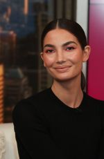 LILY ALDRIDGE at People Now in New York 12/11/2019