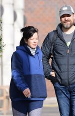 LILY ALLEN Out and About in New York 12/26/2019