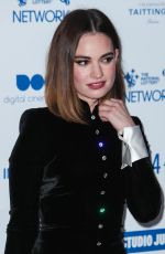 LILY JAMES at British Independent Film Awards 2019 in London 12/01/2019