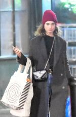 LILY JAMES Out Shopping in London 12/04/2019