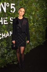 LILY-ROSE DEPP at Chanel No. 5 In the Snow Party in New york 12/10/2019