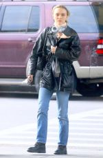 LILY-ROSE DEPP at JFK Airport in New York 12/06/2019
