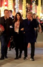 LISA VANDERPUMP and Ken Todd Out Shopping in Beverly Hills 12/22/2019